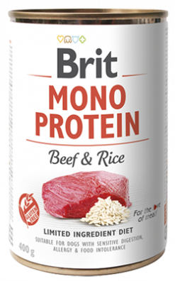 Cans Monoprotein Beef & Rice