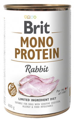 Dog Cans Monoprotein Rabbit