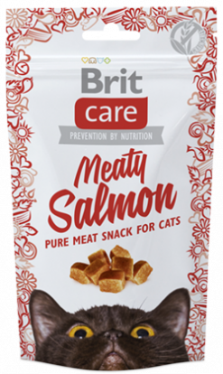 Cat Snack Meaty Salmon 50gr