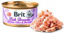 Cat Fish Dreams Chicken Fillet & Shrimp 80gr
