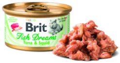 Cat Fish Dreams Tuna & Squid 80gr