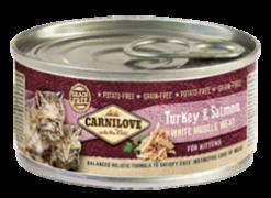Carnilove Cat Kονσέρβα Kitten Turkey & Salmon 100gr