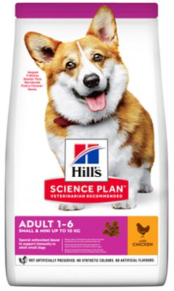 Hill's canine adult small & mini chiken