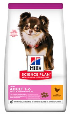 Hill's canine light small & mini chiken
