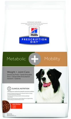 Hill's prescription diet canine metabolic + mobility weight + joint care