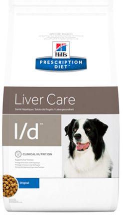 Hill's prescription diet canine l/d liver care 12 kg