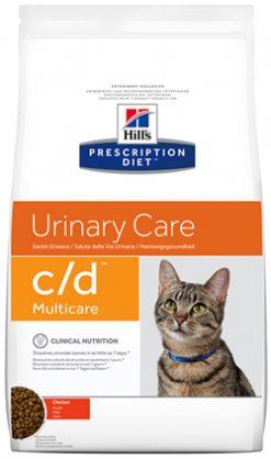 Hill's Prescription Diet Urinary Care c,d Multicare Feline with Chicken 1.5 kg