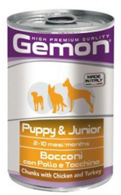 Gemon dog junior chicken & turkey 415 gr
