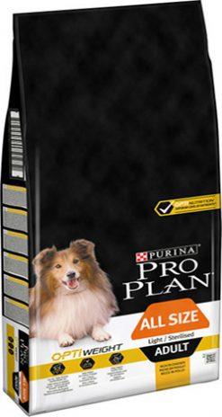 Pro plan adult light & sterilized c 14 kg