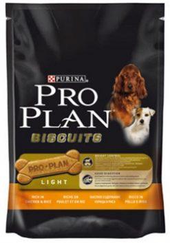 Pro plan light μπισκότα σκύλου 400 gr