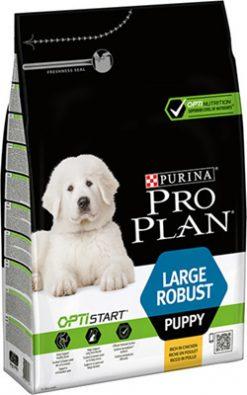 Pro plan puppy large breed robust chicken 3 kg