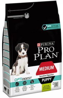 Pro plan puppy medium sensitive digestion 3 kg
