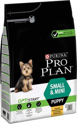 Pro plan puppy small & mini chic 3 kg