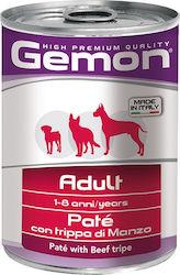 gemon dog pate adult beef