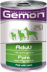 gemon dog pate adult lamb