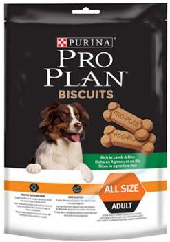 Pro plan adult μπισκότα σκύλου αρνί & ρύζι 400 gr