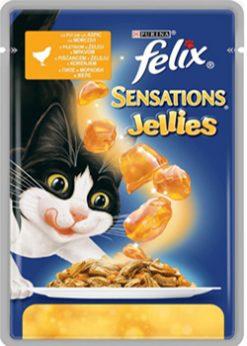 Purina felix sensations κοτόπουλο- καρότο 100 gr